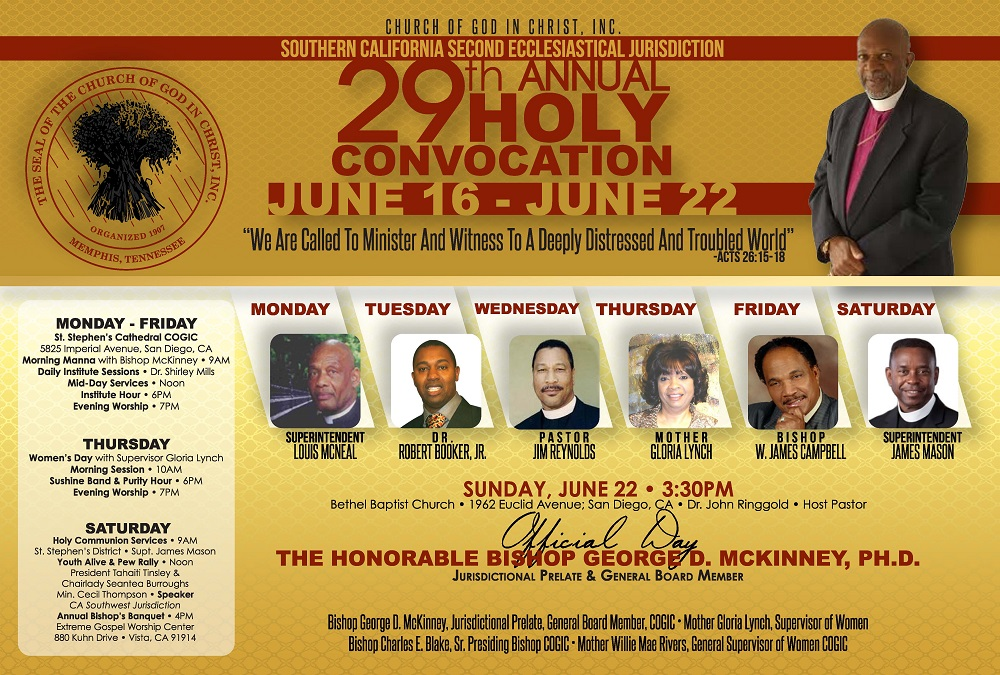 Southern California 2nd Ecclesiastical Jurisdiction   St  Stephen's