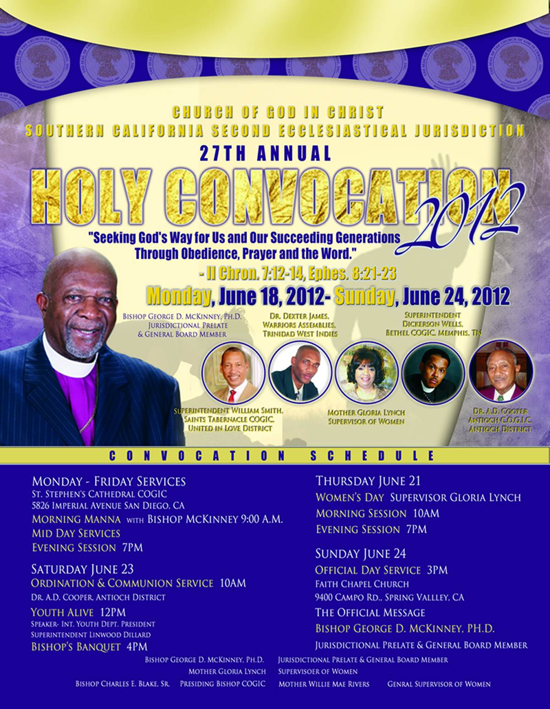 Southern California 2nd Ecclesiastical Jurisdiction | St  Stephen's